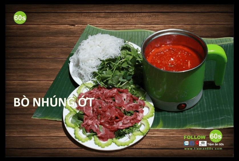 bánh tráng cuốn thịt heo ngon Đà Nẵng