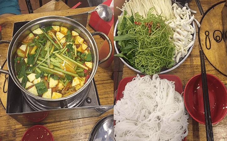 Quán lẩu và nướng ngon ở Đà Nẵng