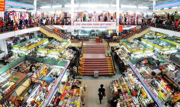 Địa điểm mua sắm Đà Nẵng- chợ Hàn