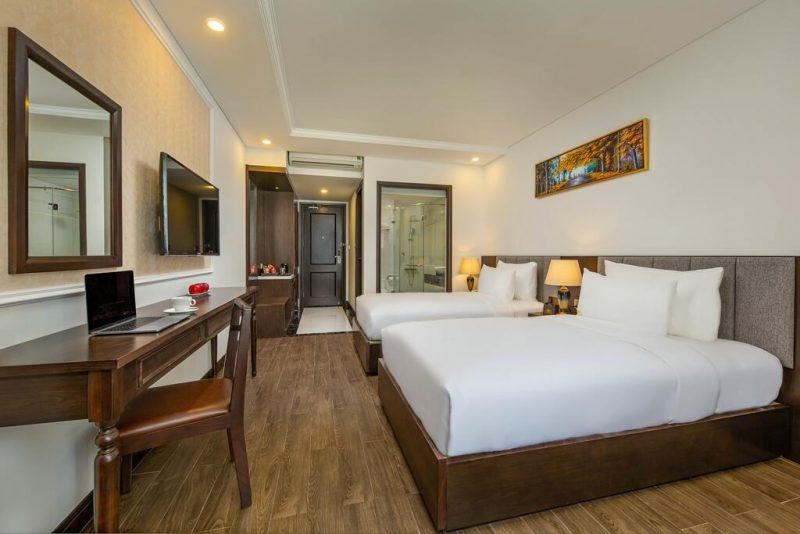 khách sạn Đà Nẵng có bể bơi-khách sạn Santa Luxury Đà Nẵng
