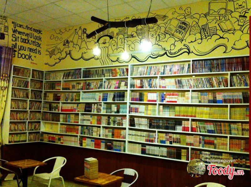 quán cafe sách tại Đà Nẵng