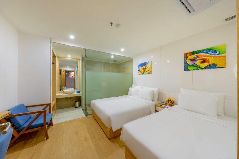 khách sạn Đà Nẵng gần biển có hồ bơi - Gold Luxury Hotel Danang