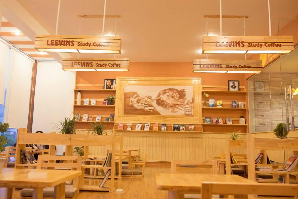 quán cafe sách Đà Nẵng