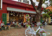 Quán Cafe Gần Cầu Tình Yêu Đà Nẵng kỉ niệm