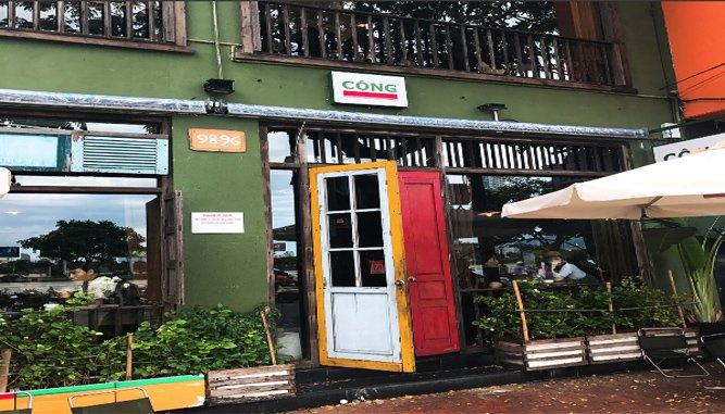 Quán Cafe Gần Cầu Tình Yêu Đà Nẵng cổ