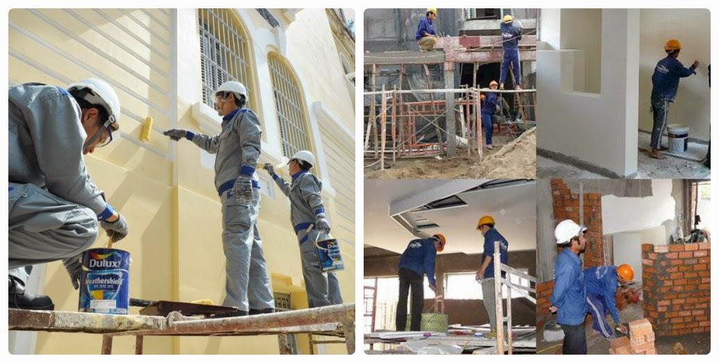 dịch vụ sơn nhà Đà Nẵng