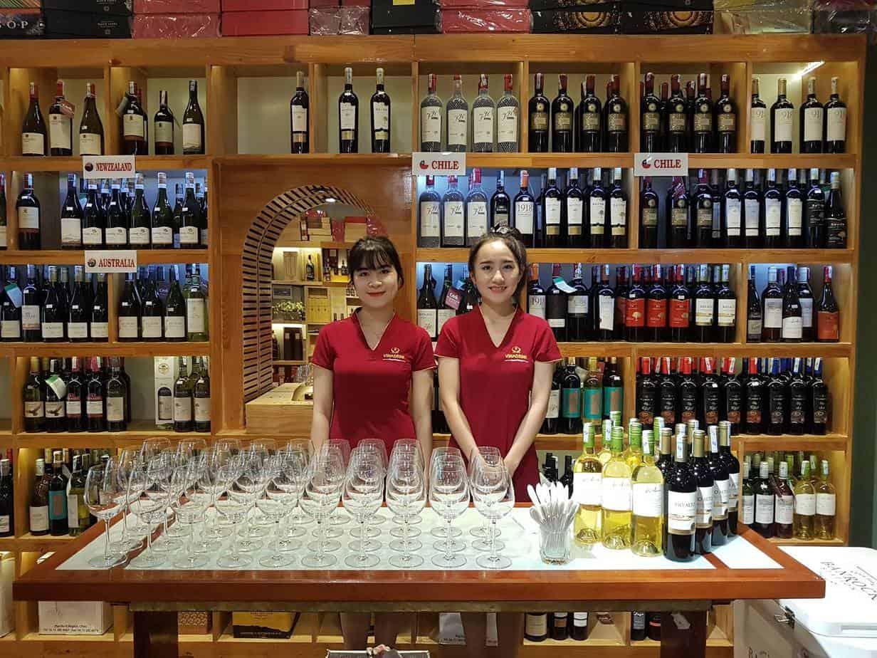 Cửa hàng rượu vang tại Đà Nẵng