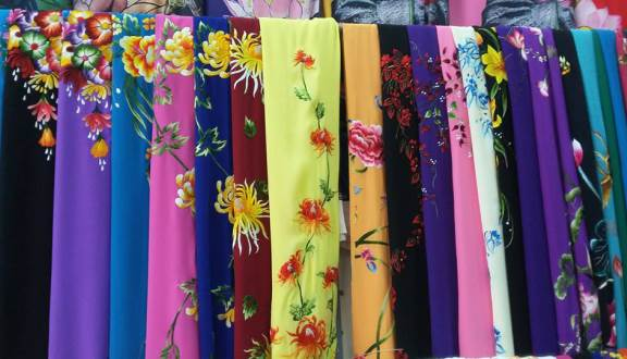 Địa chỉ bán vải áo dài ở Đà Nẵng