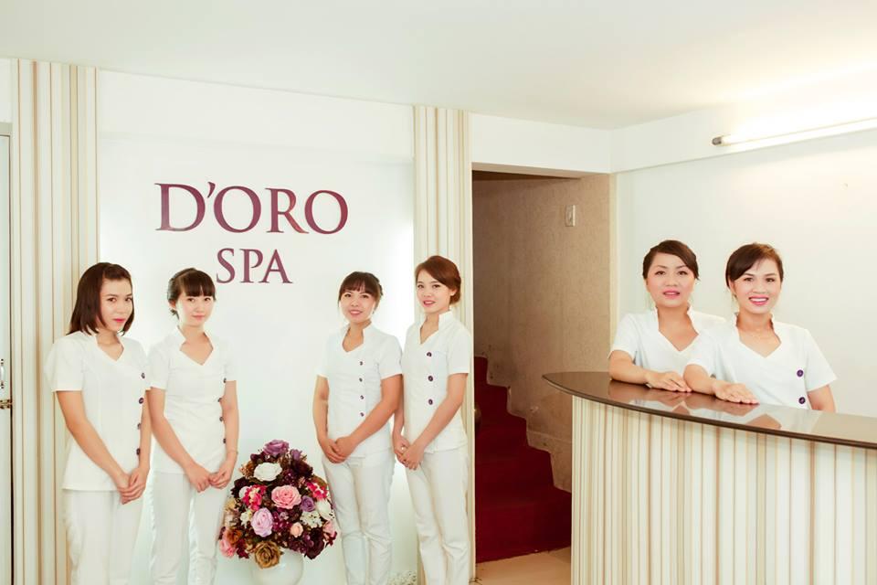 D'oro Spa - Spa tốt nhất Đà Nẵng