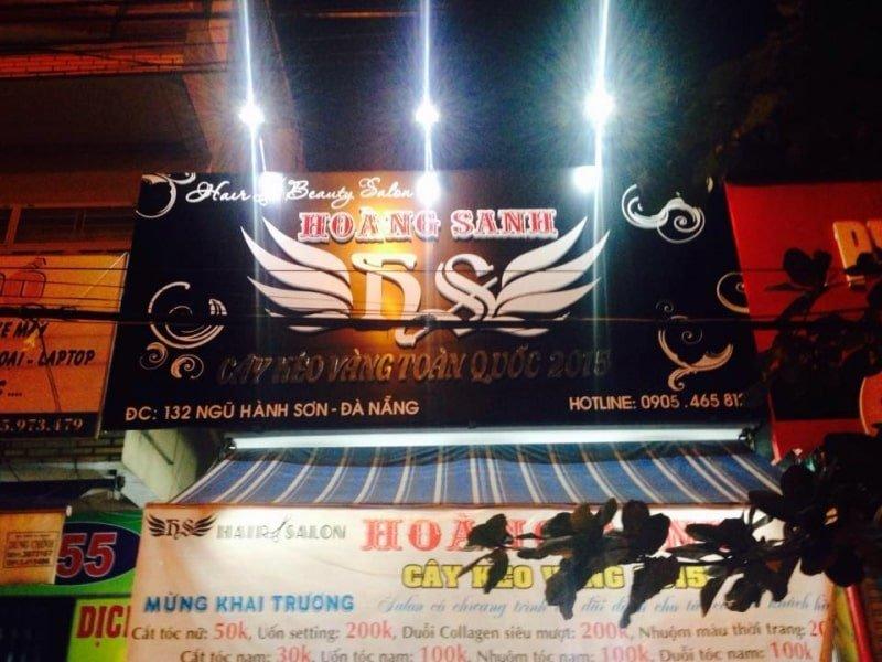 Hair Salon Hoàng Sanh - Tiệm cắt tóc nam đẹp ở Đà Nẵng