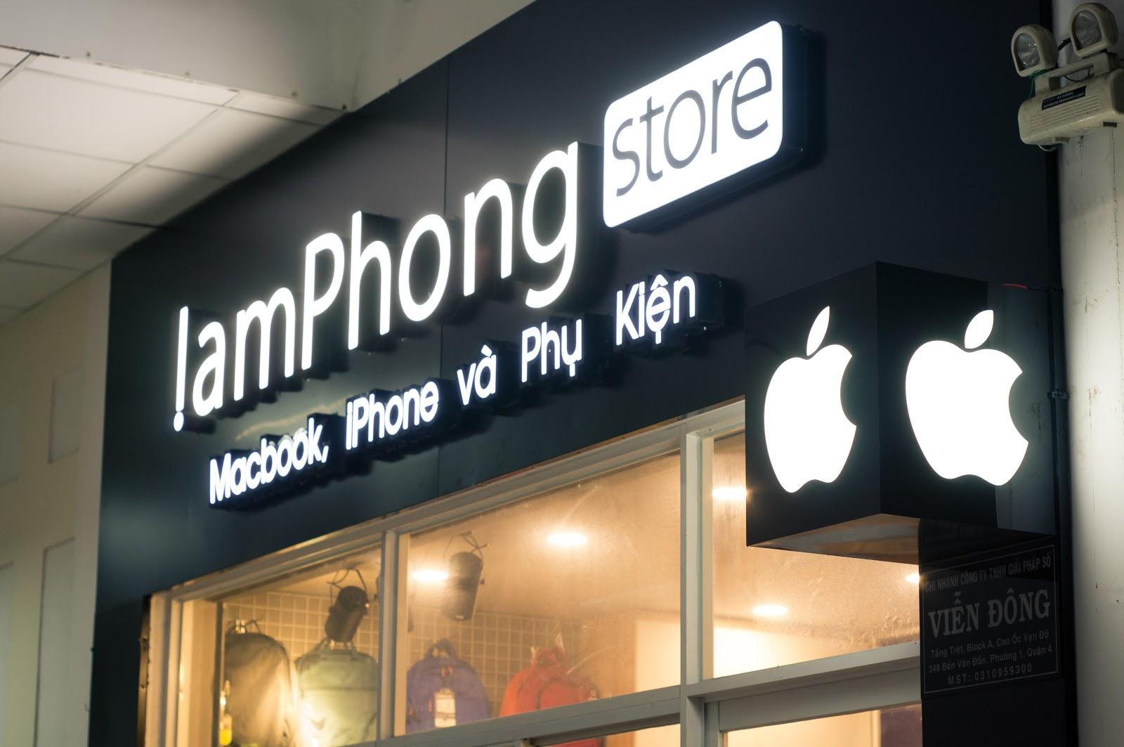 Shop bán Macbook Đà Nẵng uy tín –Lâm Phong Store