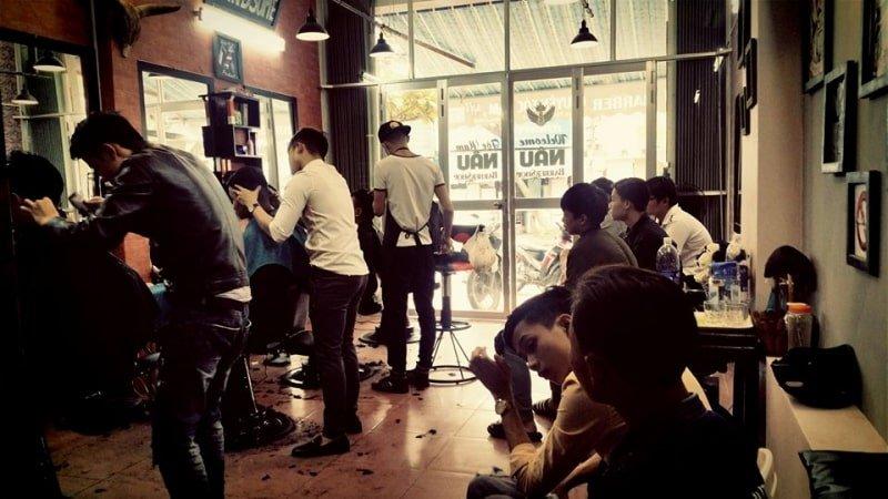 Nâu Barber Shop Đà Nẵng - Tiệm cắt tóc nam đẹp nhất Đà Nẵng