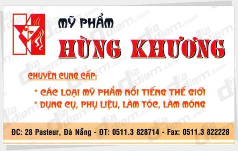 Shop Hùng Khương - Shop mỹ phẩm tốt nhất Đà Nẵng