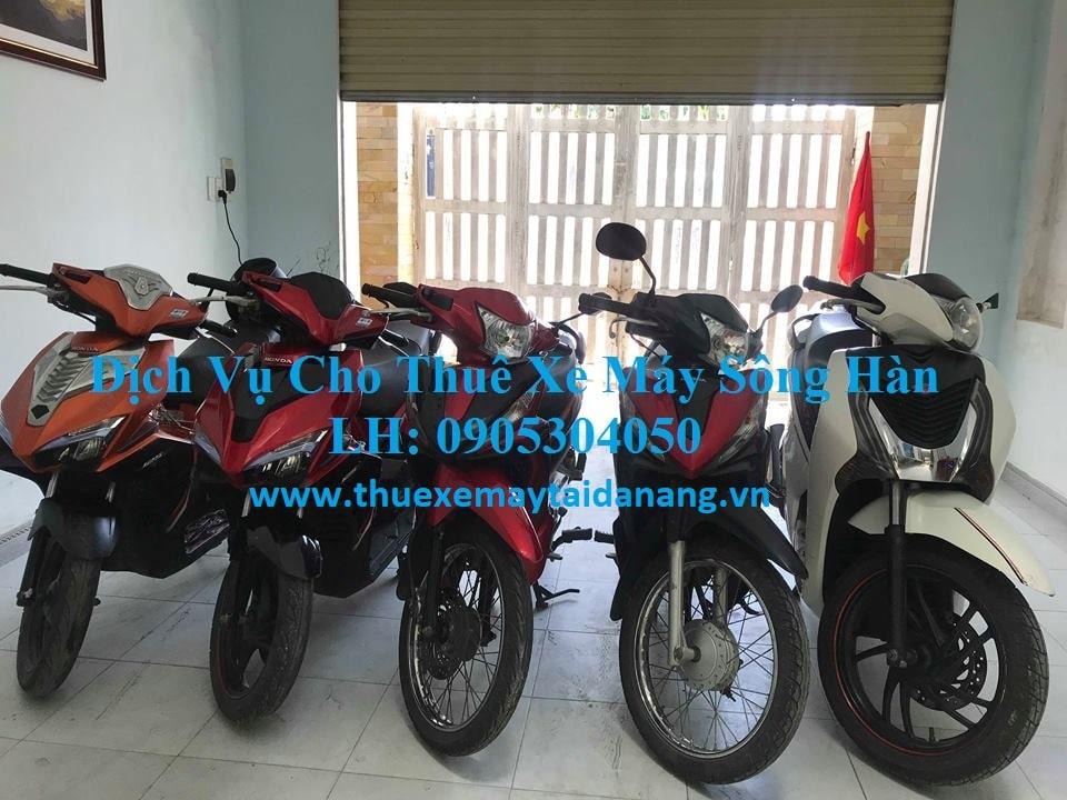 dịch vụ cho thuê xe máy Đà Nẵng