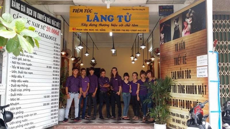 Tiệm tóc Lãng Tử - Tiệm cắt tóc nam nổi tiếng Đà Nẵng