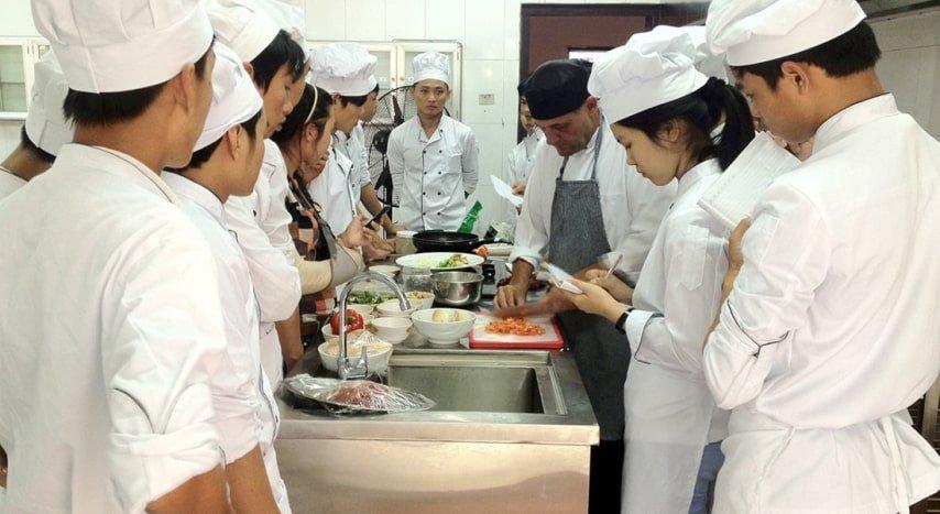 Trung tâm dạy nghề đầu bếp tại Đà Nẵng