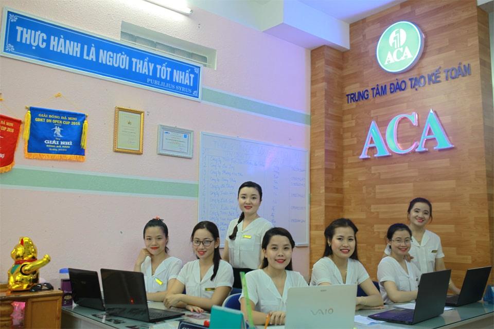 trung tâm kế toán ACA