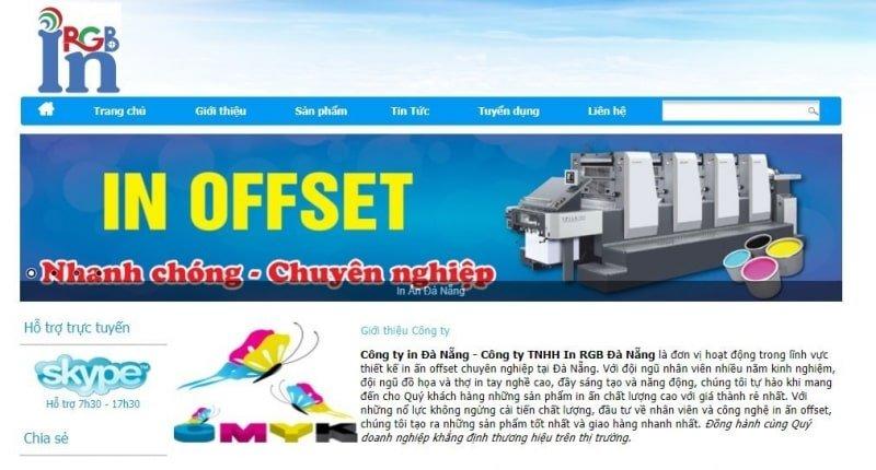 dịch vụ in ấn Đà Nẵng