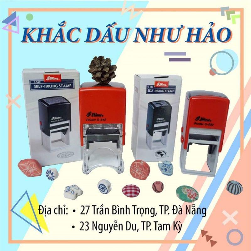 địa chỉ khắc dấu uy tín giá rẻ tại Đà Nẵng