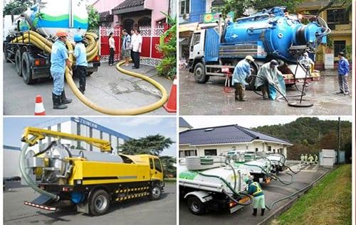 dịch vụ hút hầm cầu Đà Nẵng