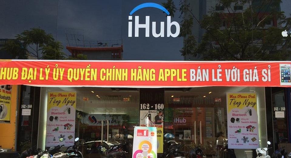Hệ thống cửa hàng iHub Đà Nẵng - Bán macbook tại Đà Nẵng