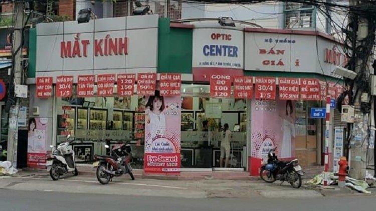Cửa hàng mắt kính Á Âu - Shop mắt kính chất lượng tại Đà Nẵng
