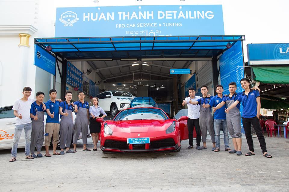 dịch vụ rửa xe tại Đà Nẵng