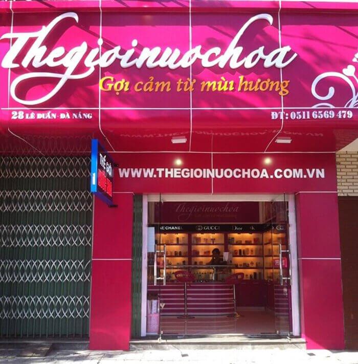 Shop Nước Hoa Uy Tín Tại Đà Nẵng
