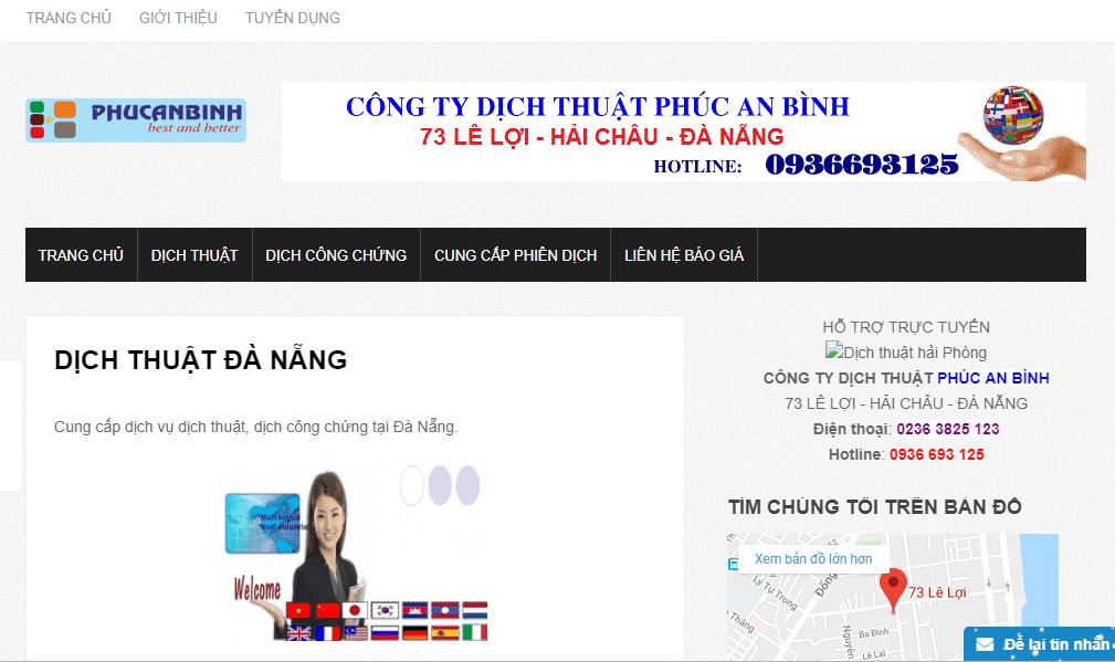 Công ty Phúc An Bình Đà Nẵng