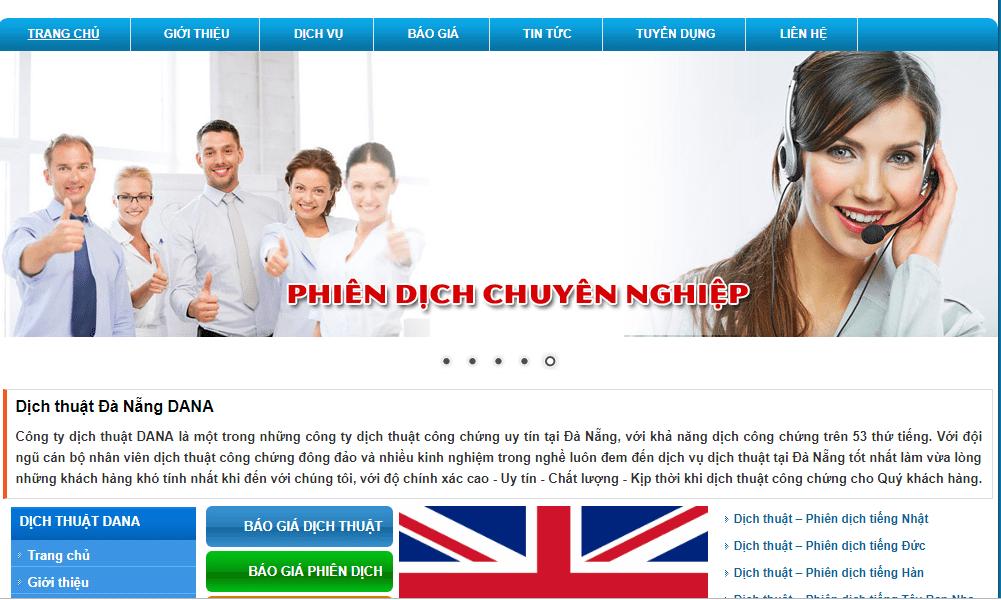 Công ty dịch thuật DaNa Đà Nẵng