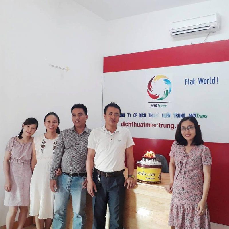 Công ty dịch thuật miền Trung MIDTRANS - Chi nhánh Đà Nẵng-