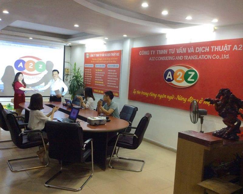 Công ty dịch thuật A2Z