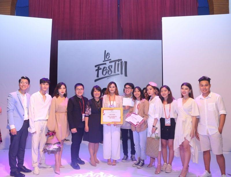 Giải Lookbook đẹp nhất thuộc về nhóm: Avenir