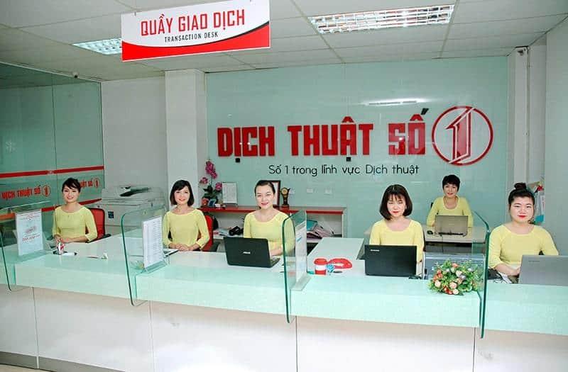 Công ty dịch thuật uy tín Đà Nẵng