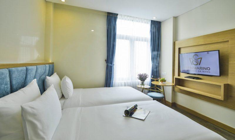 Khách Sạn 4 Sao Gần Sân Bay Đà Nẵng - Khách Sạn San Marino Boutique Đà Nẵng