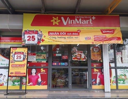 Chuỗi cửa hàng tiện lợi Vinmart - Cửa hàng tiện lợi nổi tiếng ở Đà Nẵng