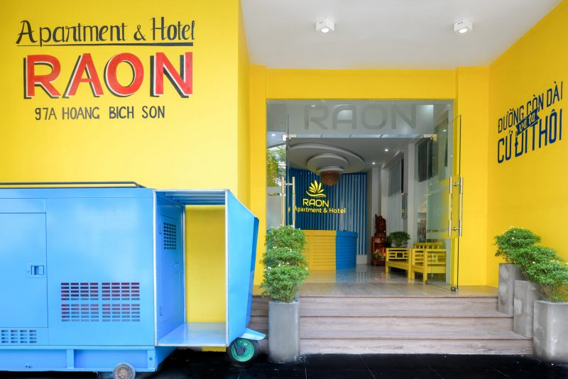 khách sạn Đà Nẵng gần cầu Rồng-Khách sạn Raon Apartment & Hotel