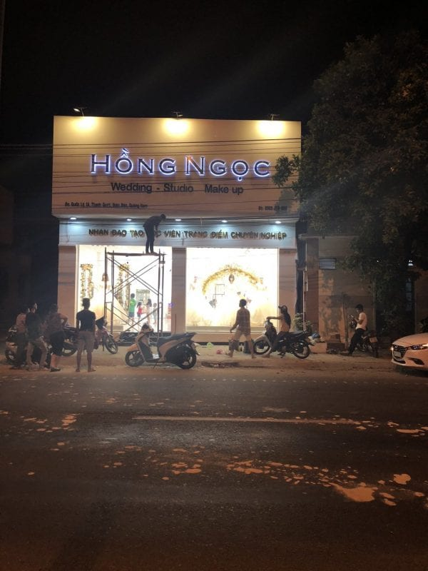công ty làm bảng hiệu quảng cáo Đà Nẵng