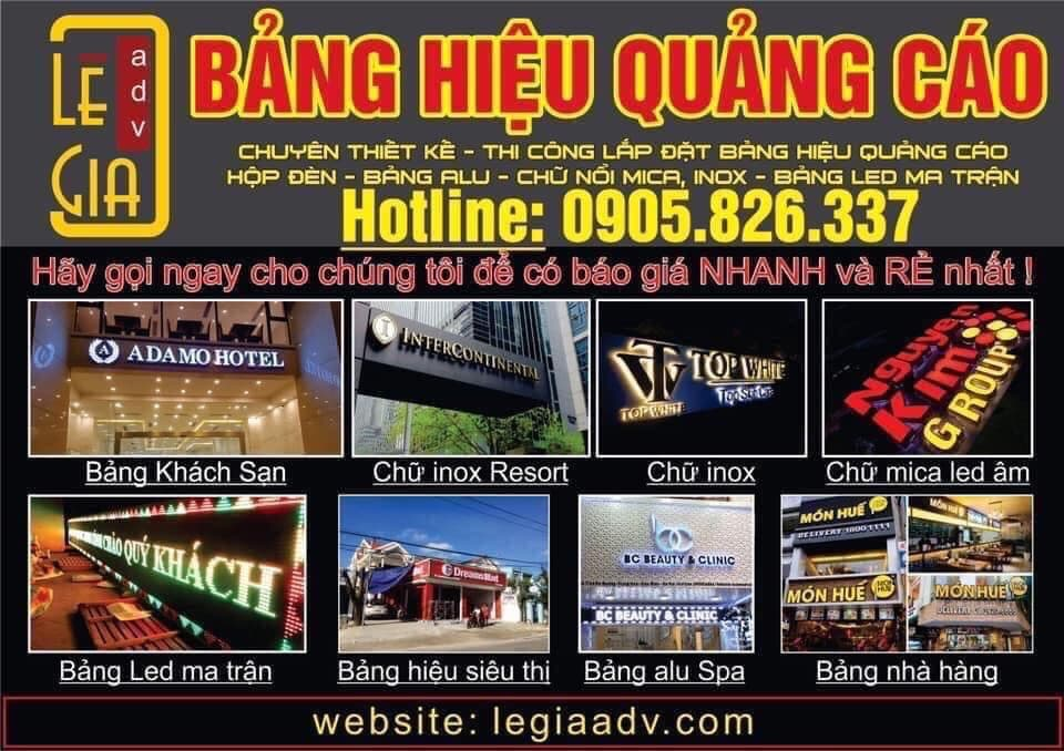 Biển hiệu quảng cáo Đà Nẵng