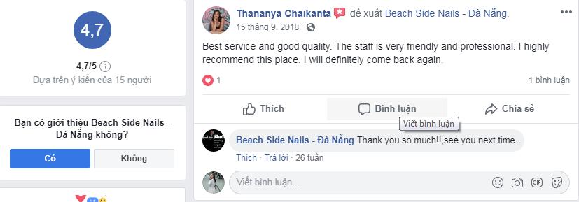 Beach Side Nails Đà Nẵng