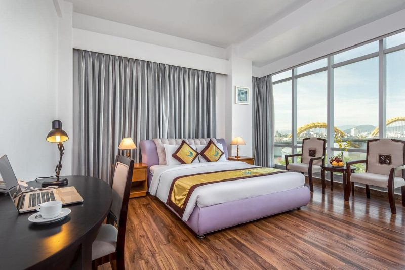 Khách Sạn 3 Sao Có View Xem Pháo Hoa Cực Xịn - Khách Sạn Riverside Đà Nẵng