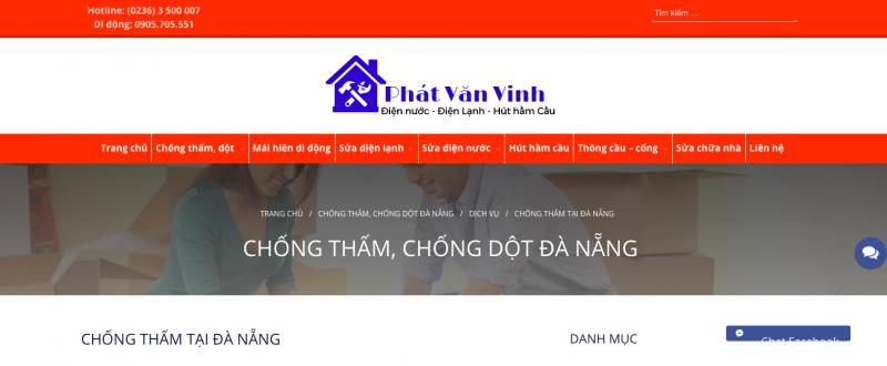 chống thấm nhà Đà Nẵng