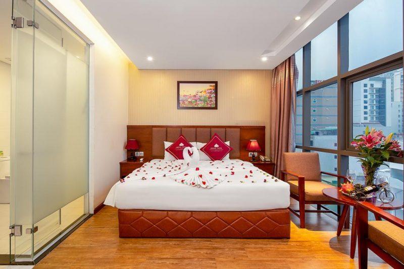 Khách Sạn Giá Rẻ Trên Đường Hồ Nghinh Đà Nẵng-khách sạn Crystal Đà Nẵng