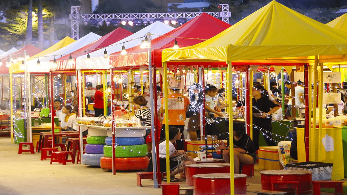chợ đêm Helio Đà Nẵng