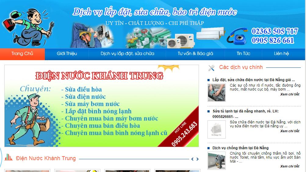 điện nước Minh Khánh Trung Đà Nẵng
