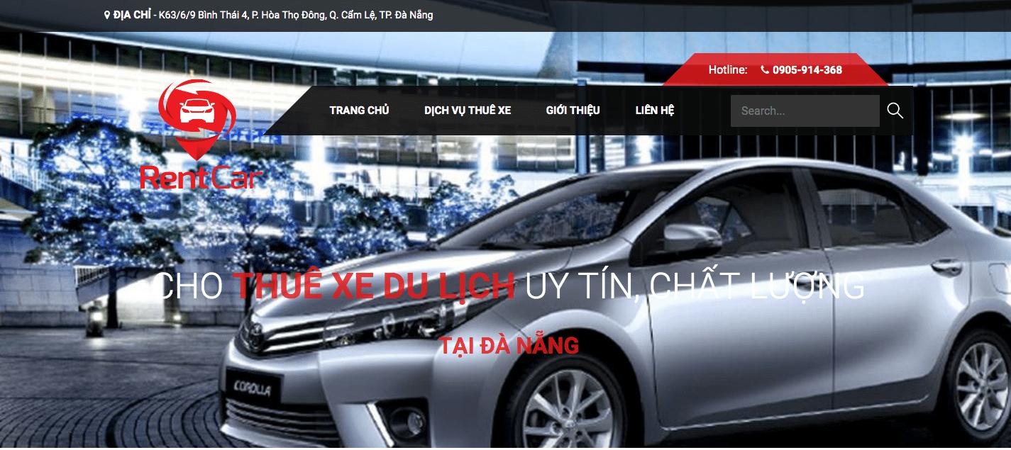thuê ô tô Đà Nẵng