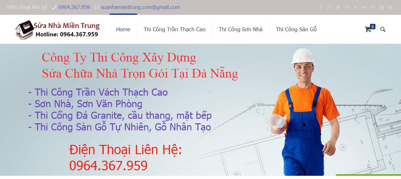 Công ty sửa nhà Miền Trung