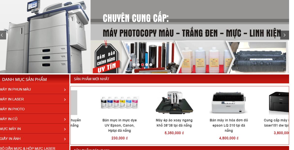 cửa hàng máy in Đà Nẵng