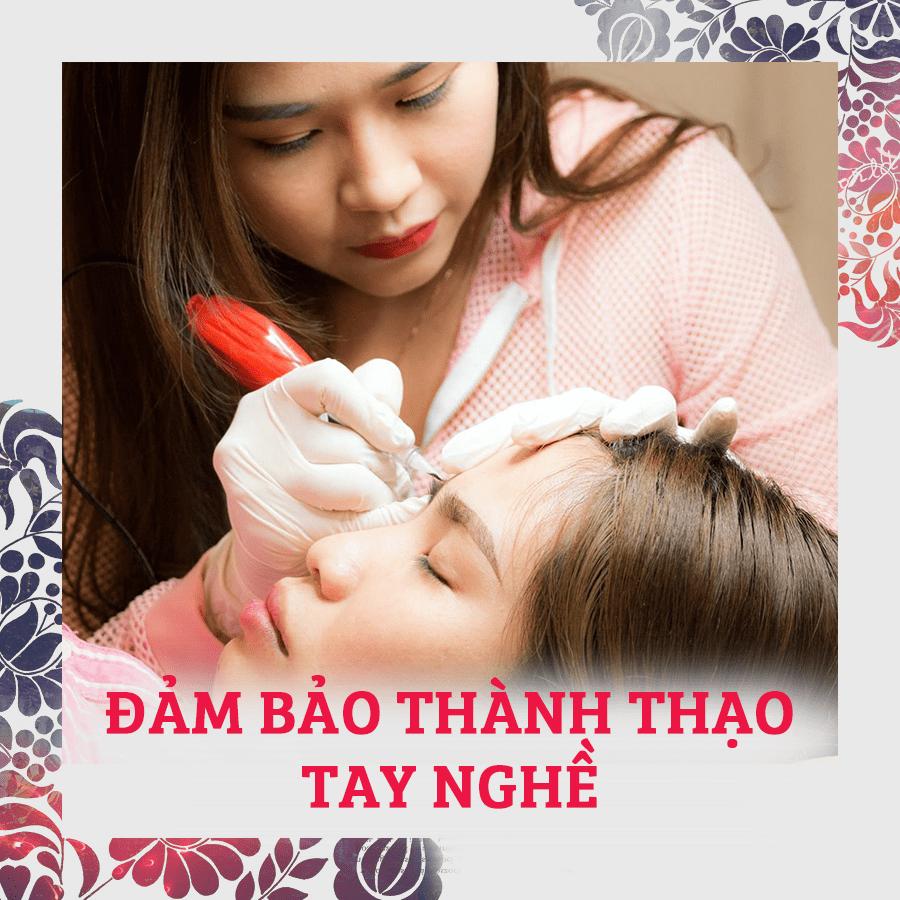 dạy nghề điêu khắc chân mày Đà Nẵng