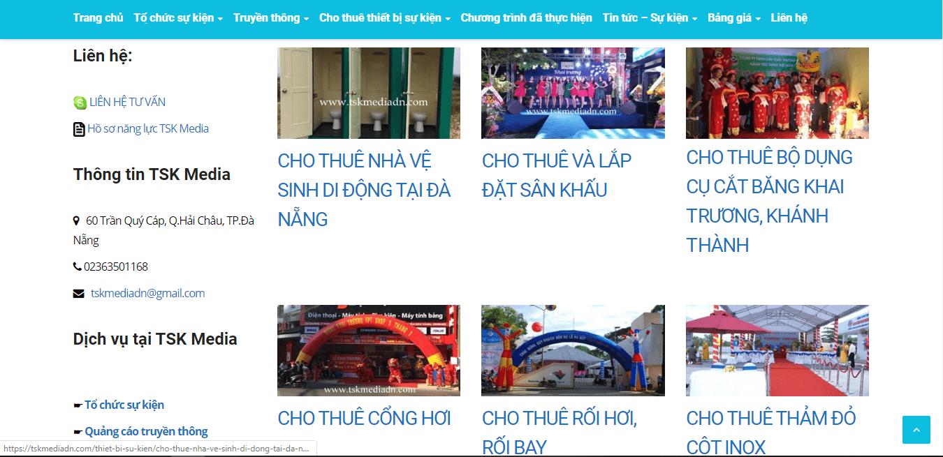 cho thuê thiết bị sự kiện Đà Nẵng